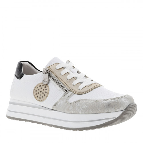 Baskets basses femme blanches